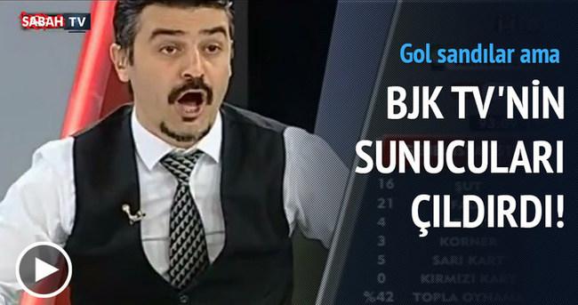 Beşiktaş'ın golü ofsayt sayılınca BJK TV