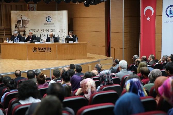 Bayburt Üniversitesinde 'Geçmişten Günümüze Türk-ermeni İlişkileri Uluslararası Sempozyumu'