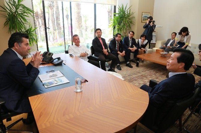 Dünyanın En Güzel Koyları Birliği Üyeleri'nden Başkan Mehmet Kocadon'a Ziyaret