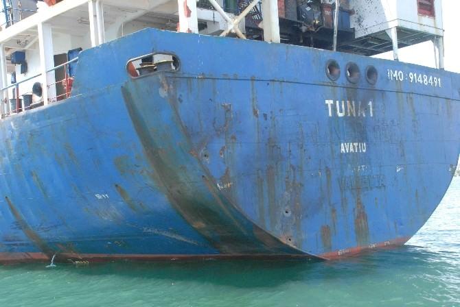 (Özel Haber) Libya Açıklarında Vurulan Tuna-1, Saldırının İzlerini Taşıyor