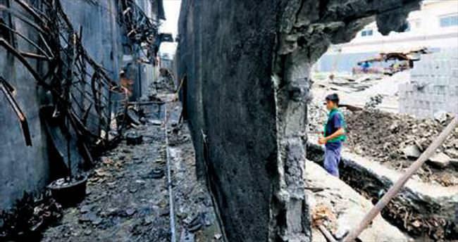 Fabrikada yangın: 72 ölü