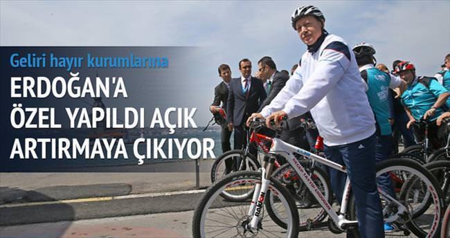 Erdoğan'ın bisikleti açık artırmayla satılacak