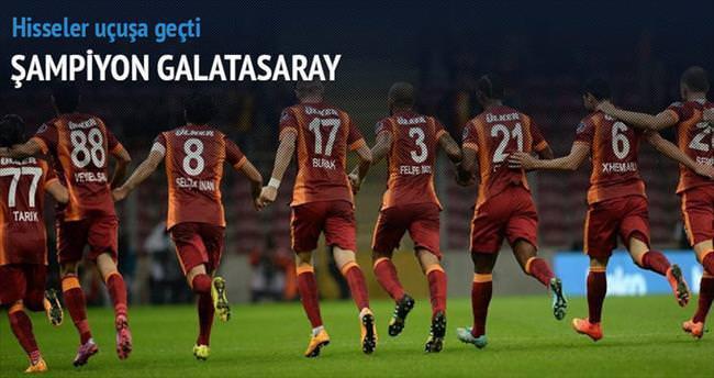 Galatasaray borsada şampiyonluğu ilan etti
