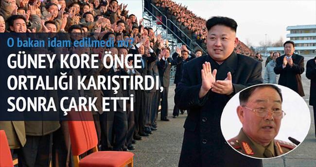Güney Kore çark etti, o bakanın akıbeti meçhul