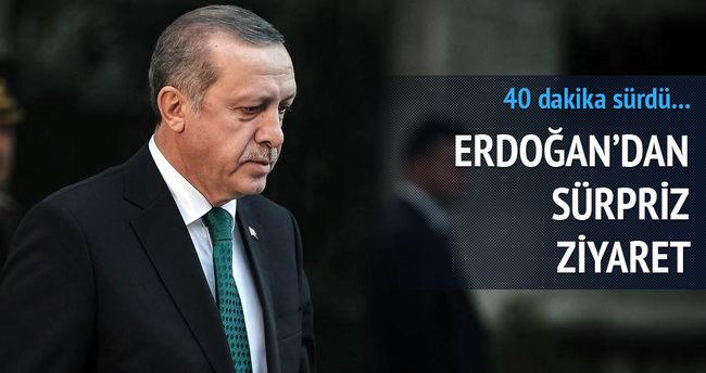 Cumhurbaşkanı Erdoğan'dan Genelkurmay Başkanı Özel'e ziyaret
