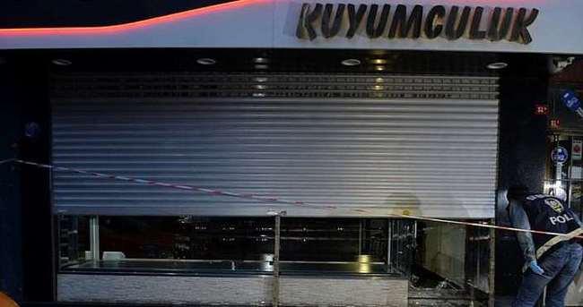 Beyoğlu'nda kuyumcu soygunu