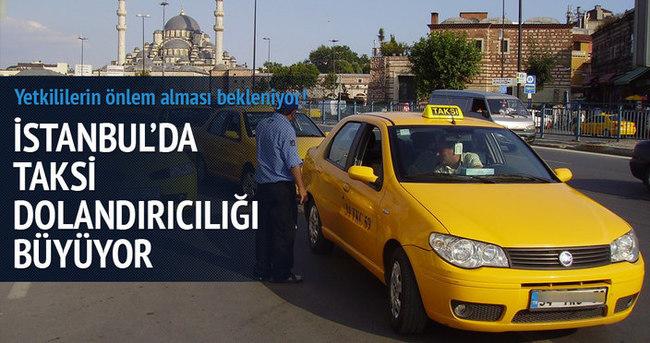 Taksicilerin turistlere taksimetre oyunu