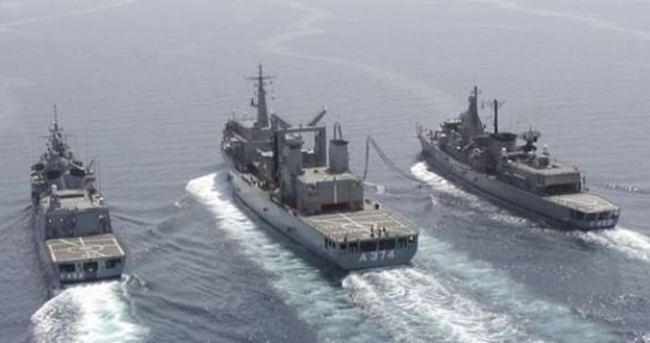Çin ve Rus gemileri Ege Denizi'nde