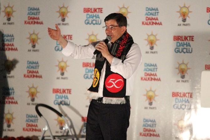 Başbakan Davutoğlu Eskişehir'de (1)