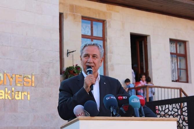 Başbakan Yardımcısı Arınç, Şehreküstü Konaklarının Açılışını Yaptı