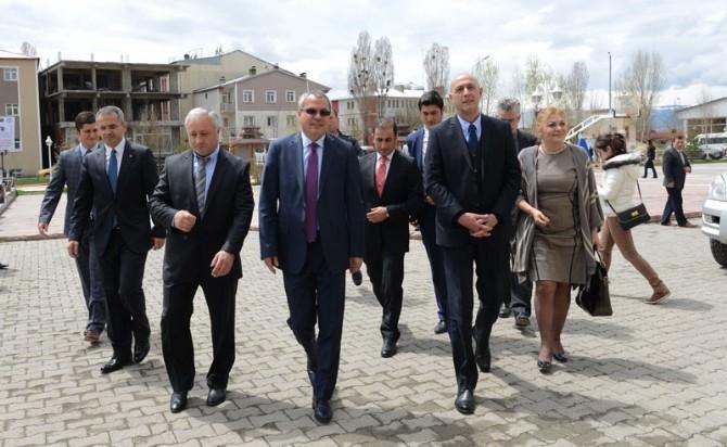 Gürcistan'ın Mtskheta Bölge Valisi Nugzar Kipiani Ardahan'ı Ziyaret Etti