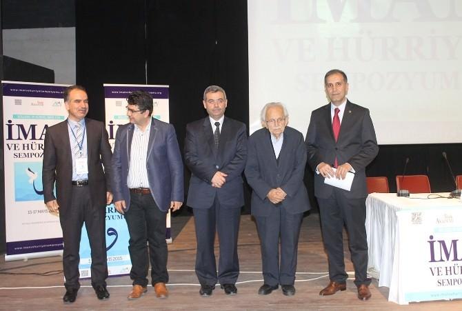 Mardin'de İman Ve Hürriyet Sempozyumu Başladı