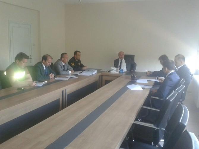 Osmaneli İlçesinde Seçim Güvenliği Toplantısı