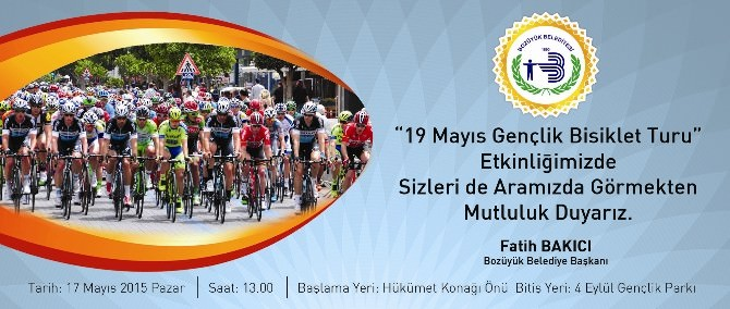 "Bozüyük'te ""19 Mayıs Gençlik Bisiklet Turu"""