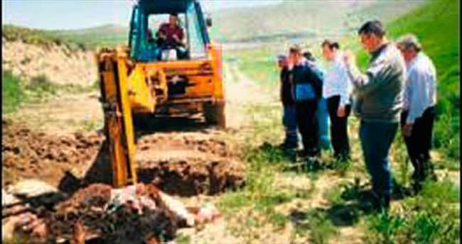 Pursaklar'da kaçak kesim operasyonu