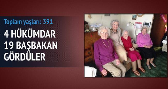 Dört kardeşin toplam yaşı: 391