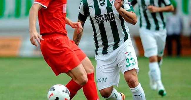 Bursaspor'un Gaziantepspor ile kritik sınavı