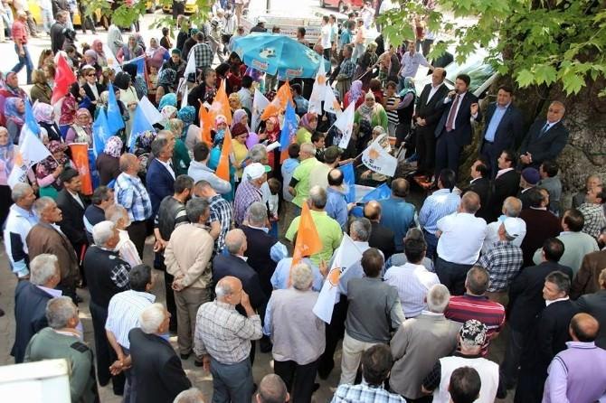 Hasankadı'da AK Parti Milletvekili Adaylarına Yoğun İlgi