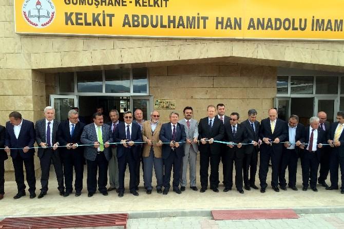 Kelkit Abdülhamit Han Anadolu İmam Hatip Lisesi Törenle Açıldı
