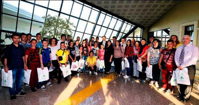 Osmangazi yabancı öğrencileri ağırladı