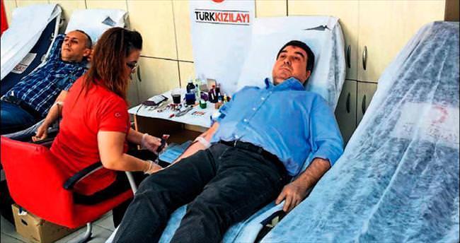 Kan kampanyasına Bilicilerden destek