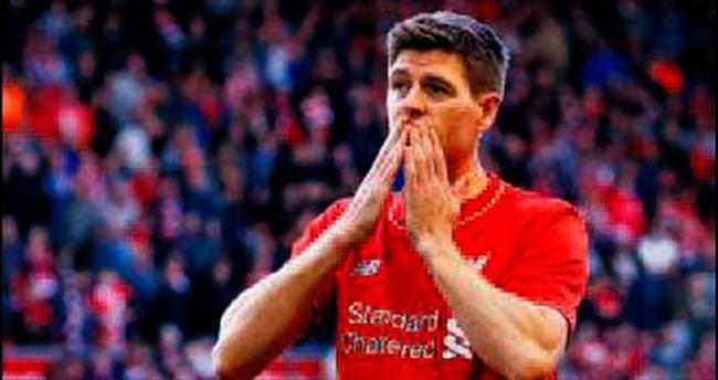 Gerrard gözyaşlarıyla Liverpool'a veda etti
