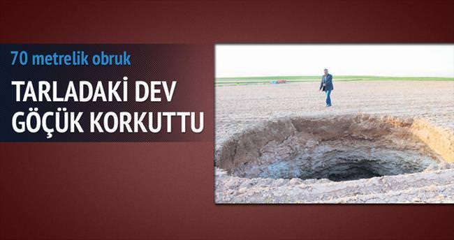 Konya'da dev obruk şaşırttı