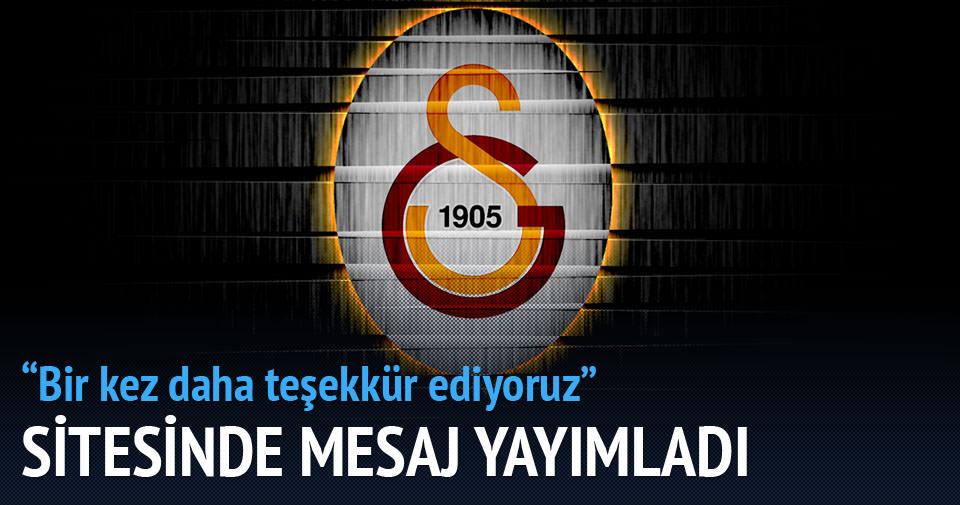 Galatasaray'dan 15. yıl dönümü mesajı