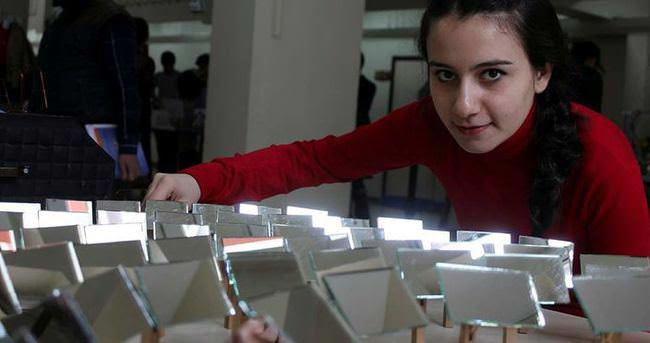 Üniversite öğrencilerinden 'Güneş tarlası' projesi
