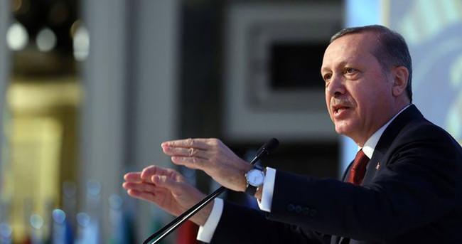 Erdoğan : Bu kapının üçüncü kilidi 20 gün sonra açılacak