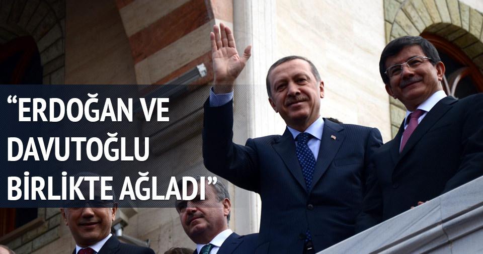 Sarıkaya: Erdoğan ve Davutoğlu beraber ağladı