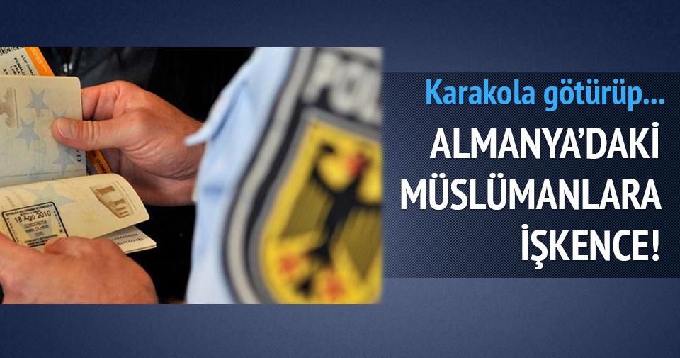 ALMANYA'DA MÜSLÜMAN SIĞINMACILARA İŞKENCE