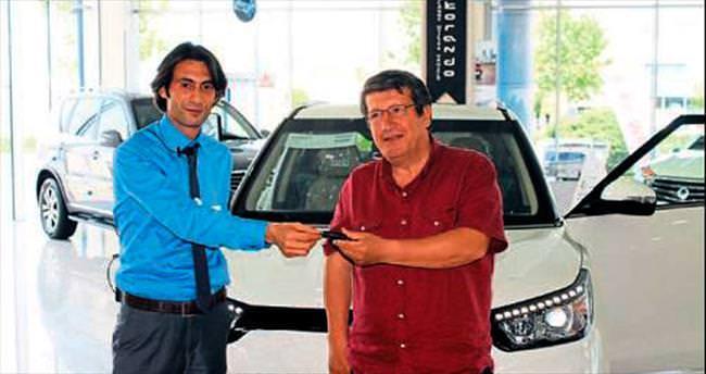 Ssang Yong Tivoli, İzmir'deki yolculuğuna hareketli başladı