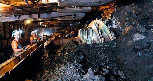 Madendeki kömürü işçi değil makine çıkaracak