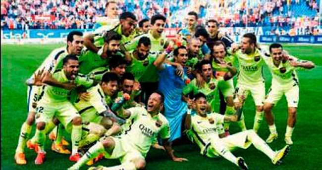 Barcelona kötü anıları silerek mutlu sona koştu!