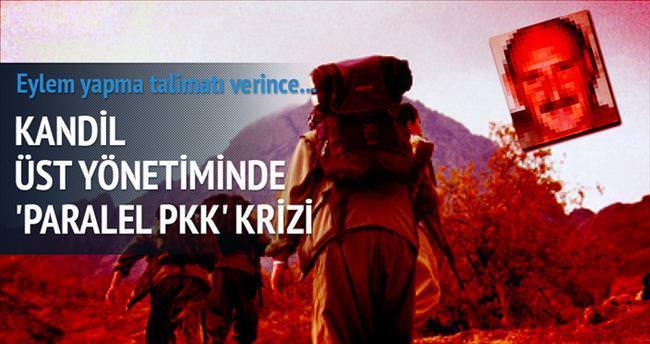 Kandil'de 'paralel PKK' gerilimi