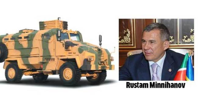 BMC'nin yeni araçlarına Tataristan ilgisi
