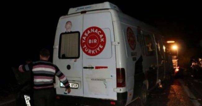 CHP'ye acı haber: 1 kişi öldü, 8 kişi yaralandı
