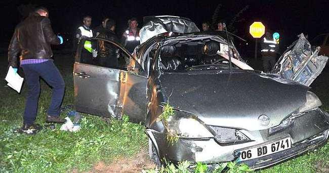 Muş'ta trafik kazası: 1 ölü