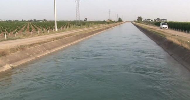 Sulama kanalına giren genç boğuldu