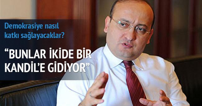 Akdoğan: Bunlar ikide bir Kandil'e gidiyorlar