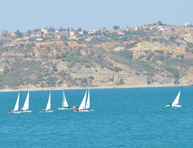 Adana'da Gençlik Kupası Yelken Ve Yüzme Müsabakaları