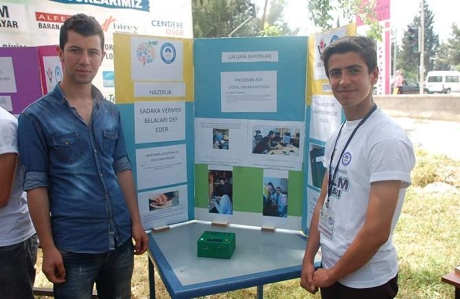 Meslek Lisesinde TÜBİTAK Bilim Fuarı Açıldı