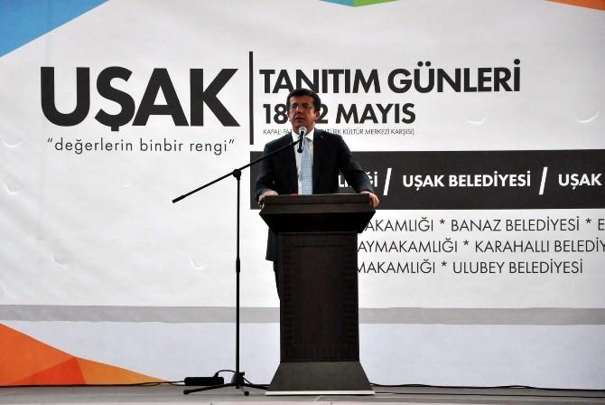 Bakan Zeybekçi: Uşak Daha İyi Yerlere Gelecek