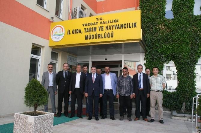Milletvekili Başer'den Gıda Tarım Ve Hayvancılık İl Müdürlüğü'ne Ziyaret