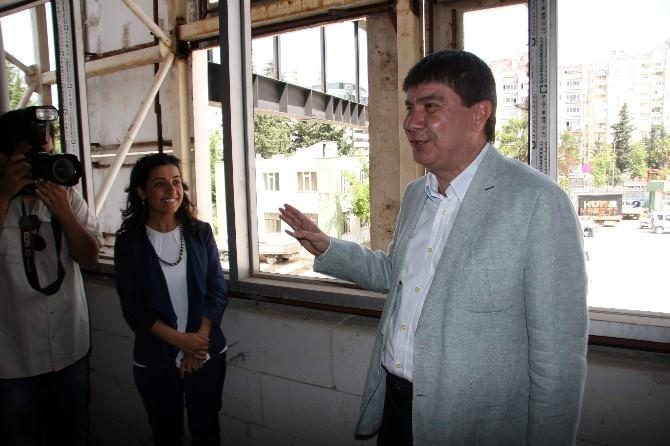 Büyükşehir Belediyesi Yeni Hizmet Binası Gün Sayıyor
