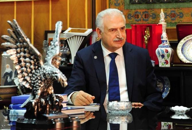 Rektör Prof. Dr. Koçak'tan 19 Mayıs Kutlama Mesajı