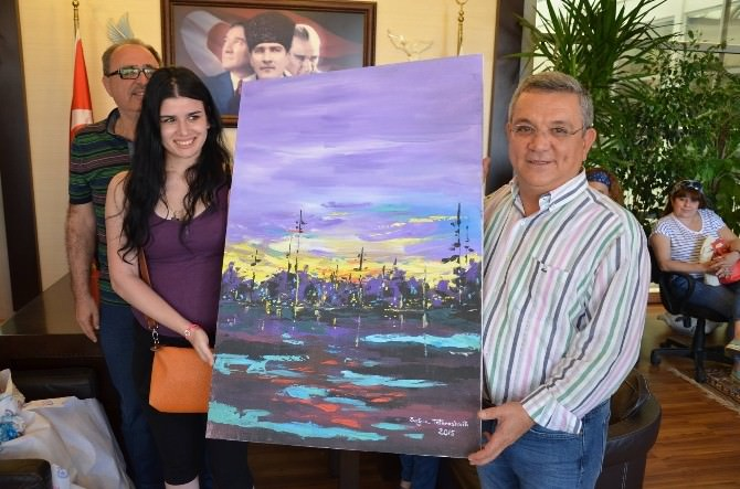 Sanatçılardan Başkan Kayalı'ya Ziyaret