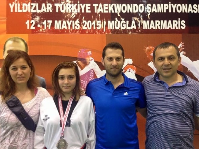 Taekwondo'da Buse Makar'dan Bir Başarı Daha