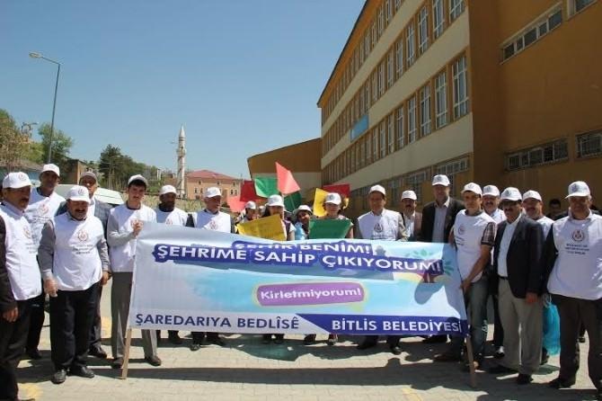 Bitlis Belediyesi'nden Temizlik Kampanyası